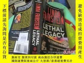 二手書博民逛書店LETHAL罕見LEGACY LINDA FAIRSTELN 37-4Y20079 LETHAL LEGACY