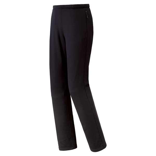 [好也戶外]mont-bell Trail Action女緊身保暖褲 黑 NO.1105541-BK