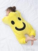 寶寶秋冬季加厚連身衣服法蘭絨睡衣男童女童嬰兒童珊瑚絨睡袋1歲2扣子小鋪