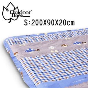 99x200x20cm原廠舒柔布保潔床包套S 歡樂時光充氣床墊床