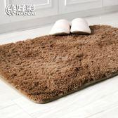 好彩超細纖維進門地墊門墊 衛生間客廳臥室浴室防滑吸水腳墊地毯【一條街】