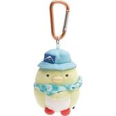 小禮堂 角落生物 絨毛吊飾 沙包娃娃 布偶 玩具 吊飾 掛飾 鑰使圈 鎖圈 (綠 企鵝) 4974413-77074