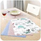 【TT405】歐式防水餐桌墊防燙墊 創意餐墊盤子碗墊鍋墊隔熱墊西餐墊
