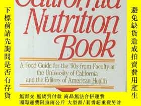 二手書博民逛書店The罕見California Nutrition Book: