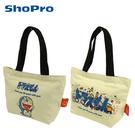 【日本正版】哆啦A夢 帆布 手提袋 50周年紀念 便當袋 午餐袋 小叮噹 DORAEMON 502805 502812