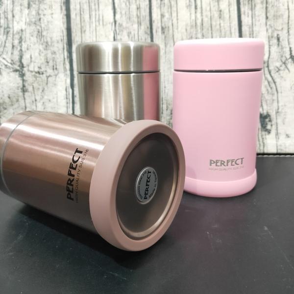 台灣製造 PERFECT 理想 品味316真空食物罐 悶燒罐 保溫瓶 保冰瓶 保冰罐寶貝外出副食品容器