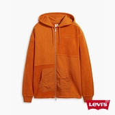 Levis 男款 重磅連帽外套 / 機能系拼接設計 / 精工Logo刺繡 / 430GSM厚棉 / 下擺抽繩