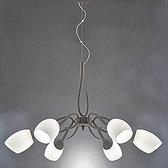 HONEY COMB 普諾複刻版彎鉤個性吊燈 六燈 TA7518R
