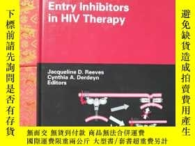 二手書博民逛書店Entry罕見Inhibitors in HIV TherapyY234639