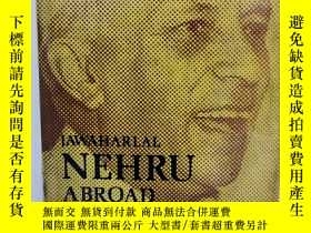 二手書博民逛書店尼赫魯海外經歷年表及歷史研究罕見Jawahsrlal Nehru Abroad A Chronological S