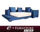 『 e+傢俱 』BB133 傑磊 Jaleel 淨雅脫俗 雙人床 布質 6尺 床架 可訂製