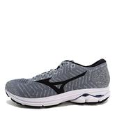 Mizuno Waveknit R2 [J1GD182909] 女鞋 運動 慢跑 避震 耐磨 舒適 美津濃 灰黑
