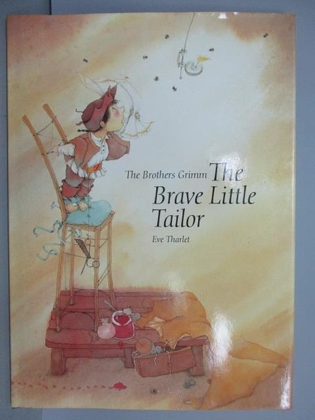 【書寶二手書T8/少年童書_PLC】The Brave Little Tailor