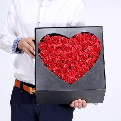 618好康又一發七夕情人節玫瑰花香皂禮盒花束創意
