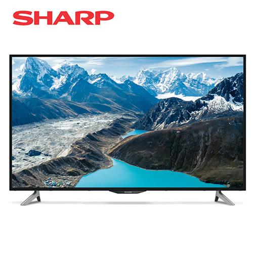 [SHARP 夏普]50型 4K智慧連網液晶顯示器 LC-50UA6500T