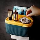 衛生間紙巾盒廁所馬桶衛生紙置物架洗手間創意捲紙廁紙抽紙收 【快速出貨】