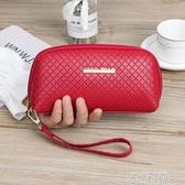 新款時尚女錢包手機包大容量女式長款錢包女小包包手拿包女手抓包 依凡卡時尚