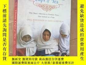 二手書博民逛書店Three罕見cups of tea. 原版正品 插圖本Y146