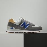 New Balance 男 灰 麂皮 復古 運動 慢跑 休閒鞋 ML574NE2