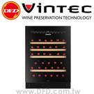 法國 VINTEC V40SGEBK 單門單溫酒櫃 NOIR SERIES 公司貨 約裝40瓶 丹麥研發設計