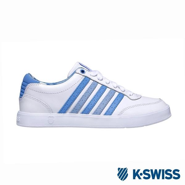 K-SWISS Court Lite CMF時尚運動鞋-女-白/藍