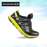 丹大戶外用品 法國【SALOMON】XR Misson 黑亮黃 輕量健走/健行/登山鞋 型號128445