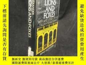 二手書博民逛書店1978年罕見Lions and Foxes: Men and
