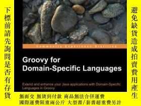 二手書博民逛書店Groovy罕見For Domain-specific LanguagesY256260 Fergal Dea