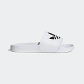 Adidas Adilette Lite [FU8297] 男女鞋 拖鞋 涼鞋 柔軟 避震 簡約 運動 愛迪達 白黑