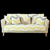 全棉沙發墊布藝簡約現代客廳四季
