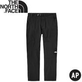 【The North Face 男 軟殼長褲《黑》】4NCP/防潑水長褲/休閒長褲/戶外長褲