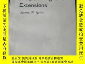 二手書博民逛書店GoaI罕見Programming and Extensions
