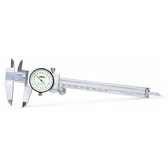 INSIZE 奧地利附錶專業測量尺 200mm/0.01mm 標準型游標測量規尺 工業測量尺 1311-200A