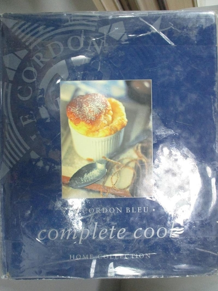 【書寶二手書T6/餐飲_GML】Le Cordon Bleu Complete Cook Home Collection_Cordon bleu (School : Paris, France)