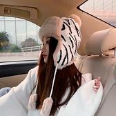 雷鋒帽騎車帽韓版百搭保暖加絨針織滑雪護耳帽秋冬季【少女顏究院】