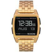 【人文行旅】NIXON | A1107-502 THE BASE 復古時間旅行電子錶
