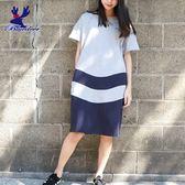 American Bluedeer-剪接長版洋裝(魅力價) 春夏新款