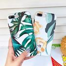 【SZ15】清新文藝 植物手機殼 龜背竹  大黃花 iphone XS MAX手機殼 iphone XS手機殼 iphone8 plus保護套