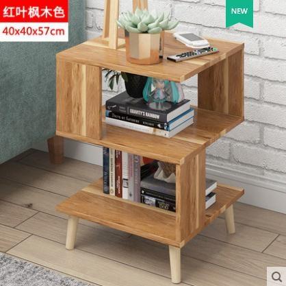 北歐床頭櫃簡約現代收納小櫃子茶幾簡易臥室床邊儲物櫃經濟型LX 限時熱賣