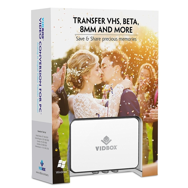 [107美國直購] VIDBOX 視頻採集套裝 Video Conversion for PC (取代舊款 DVD 8.0 Deluxe )