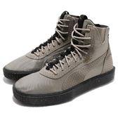 Puma 休閒鞋 Breaker Hi Blocked 灰 黑 厚底 高筒 蛇鱗設計 男鞋 女鞋【PUMP306】 36698901