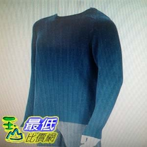 [COSCO代購] Kirkland Signature 科克蘭男美麗諾混紡長袖毛衣 (深藍) _W1012019