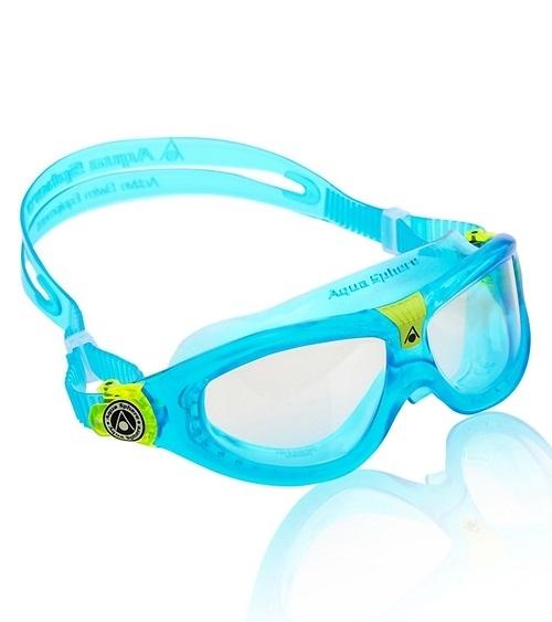 精品兒童蛙鏡 義大利名品 AQUA SPHERE Seal Kid 藍色 抗UV 最受歡迎4-12歲