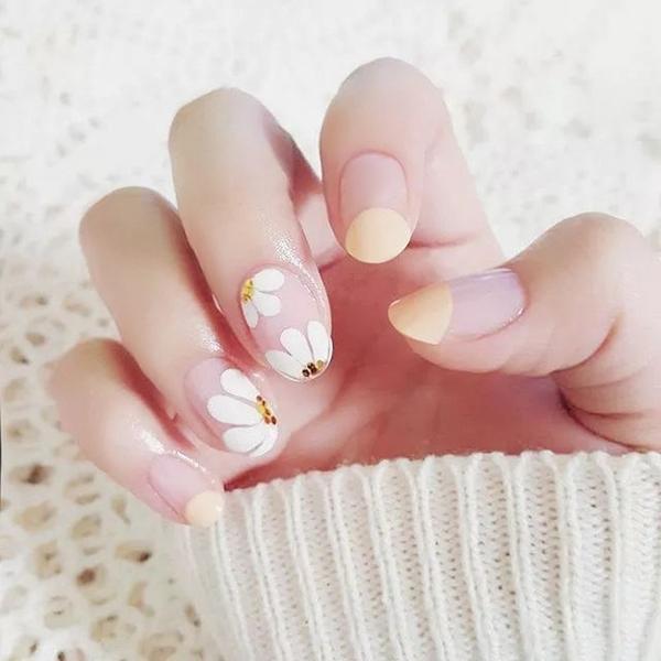 光療感指甲油可穿戴假指甲成品 美甲 持久 防潑水3d指甲貼片 小圓頭甲片 背膠配外套皮衣風衣