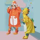 2020沖鋒布加強防護兒童造型雨衣