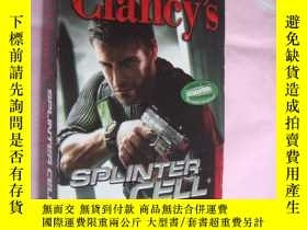 二手書博民逛書店Tom罕見Clancy s Splinter cell :Con