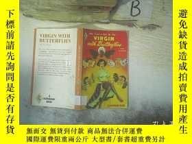 二手書博民逛書店VIRGIN罕見WITH BUTTERFLIES 帶蝴蝶的處女(01)Y261116