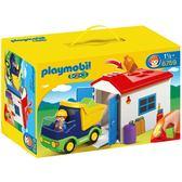 playmobil 123series 小車庫_PM06759