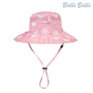 【美國 Brille Brille】兒童防曬雙面帽系列 - 夢幻農莊(正反兩面皆可戴)