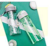 戶外運動水杯 男女學生便攜隨手杯子漏耐摔塑料杯子   卡菲婭
